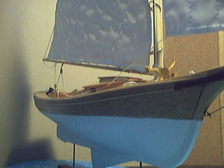 My Muscongus Bay Lobster Smack Model Boat Photos