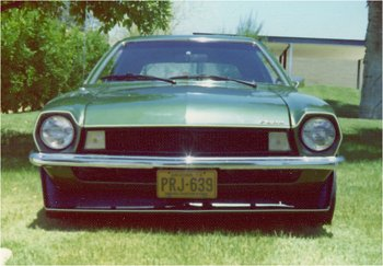 ford pinto fiberglass front end